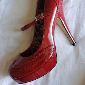 Women's Red 6inch heels